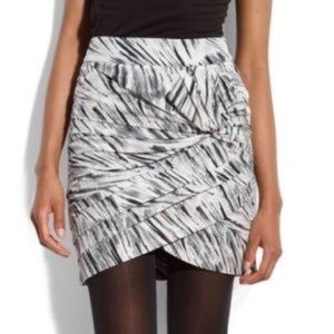 Anthropologie Leifsdottir Pleated Mini Skirt